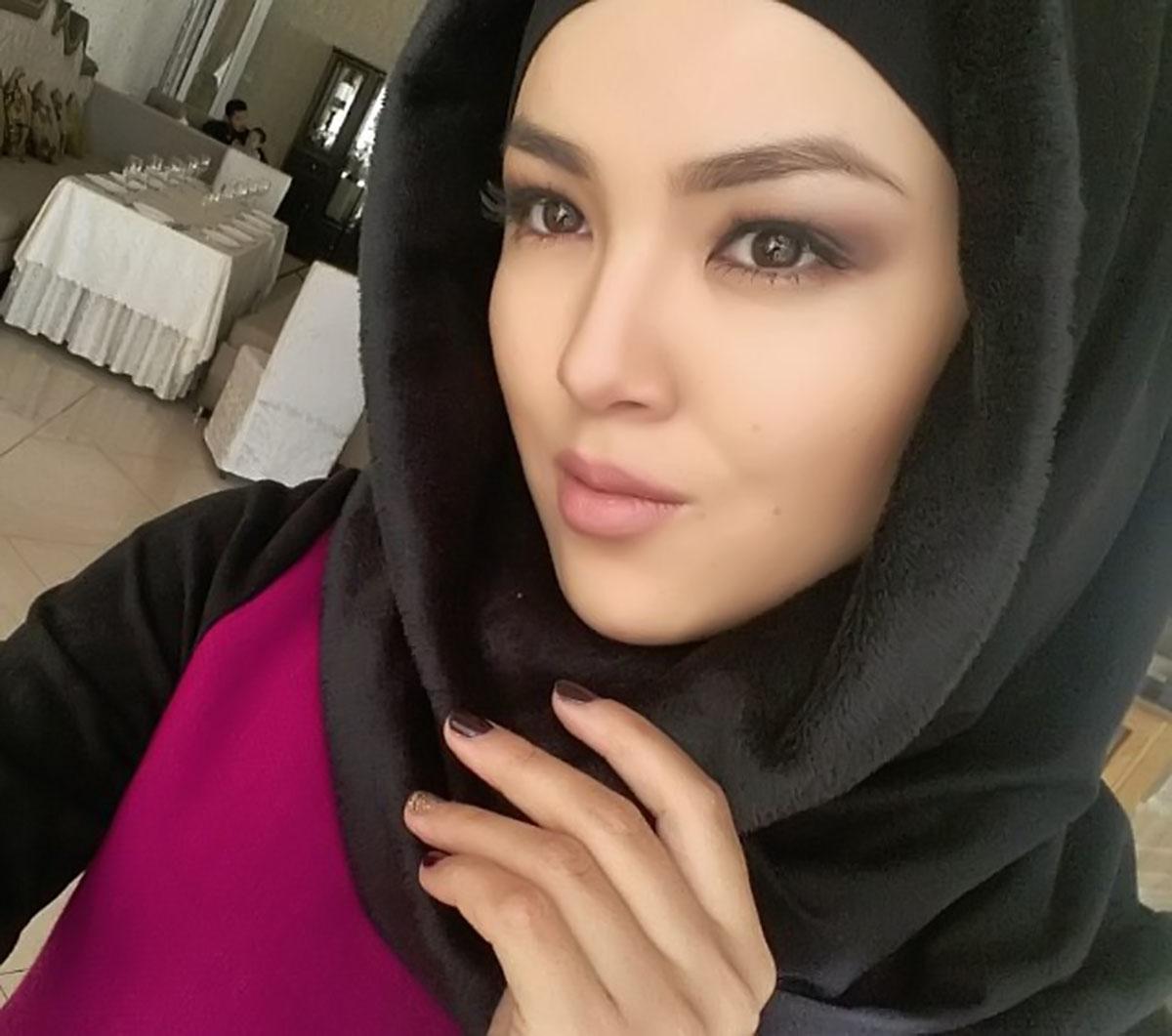 Фото девушек без макияжа в хиджабе
