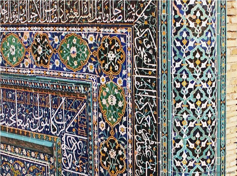 Кафель – украшение мечетей и дворцов
