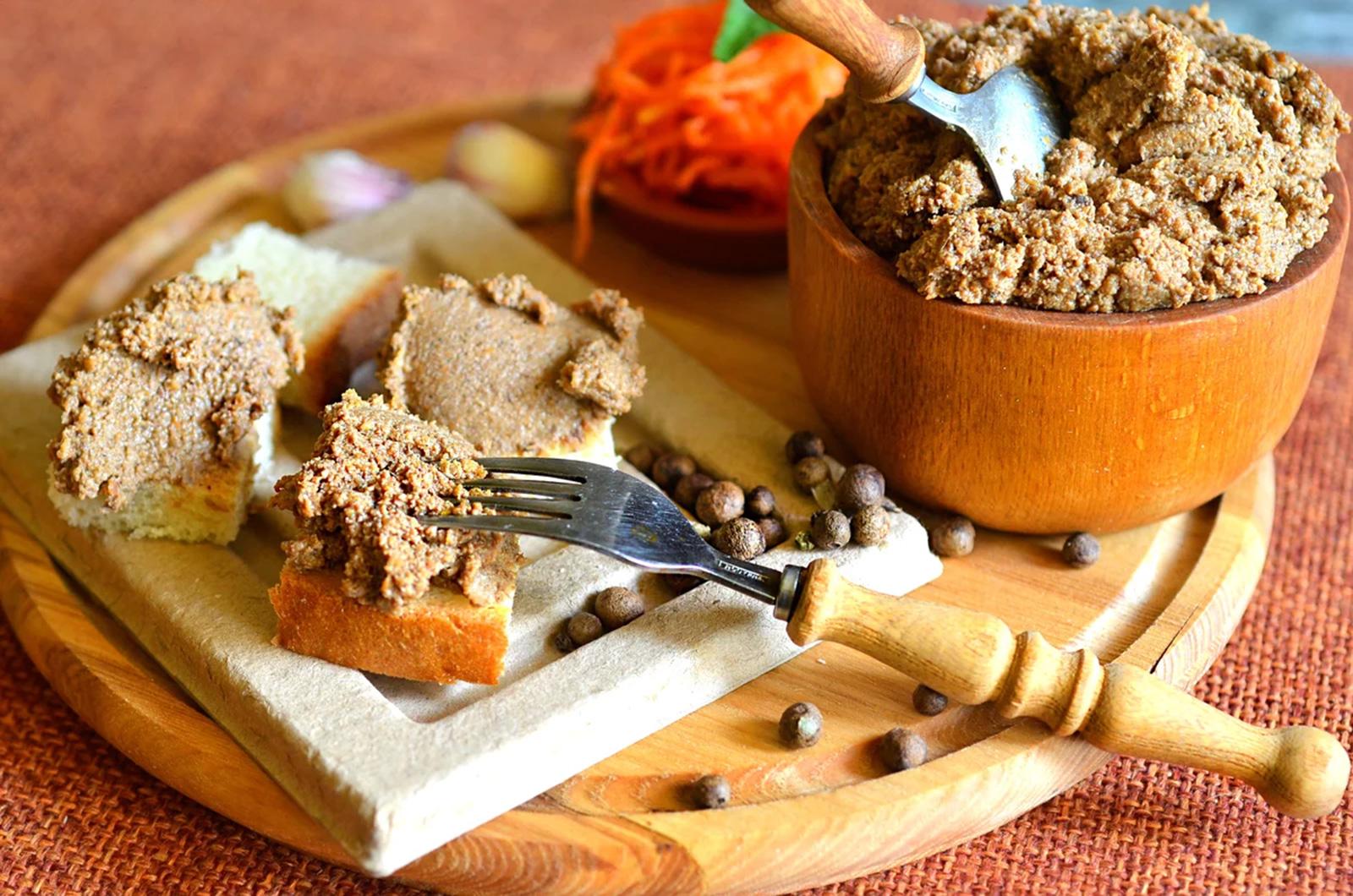 Сухур. Печёночный паштет