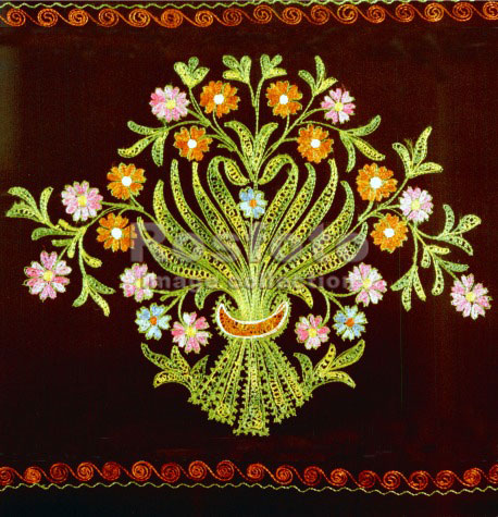 Вышивки татарских узоров