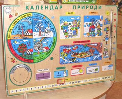 Картинки календарей природы для дошкольников