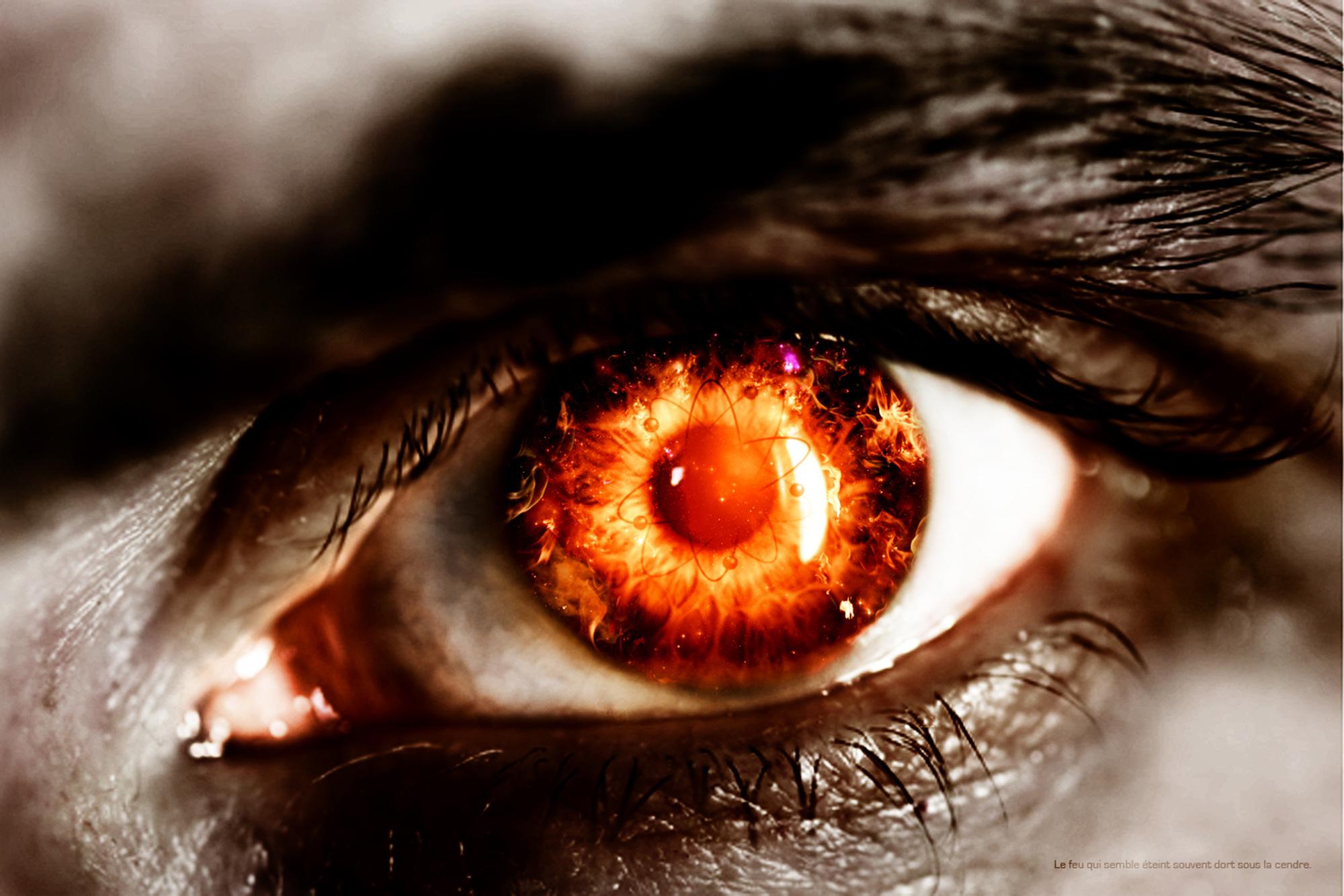 Создаём эффект светящихся глаз в Фотошоп 50