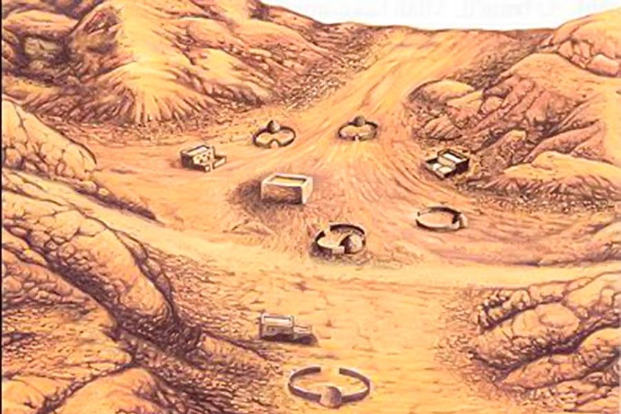 Пророк Ибрахим (мир ему) со своим сыном Исмаилом построил рядом с источником Каабу